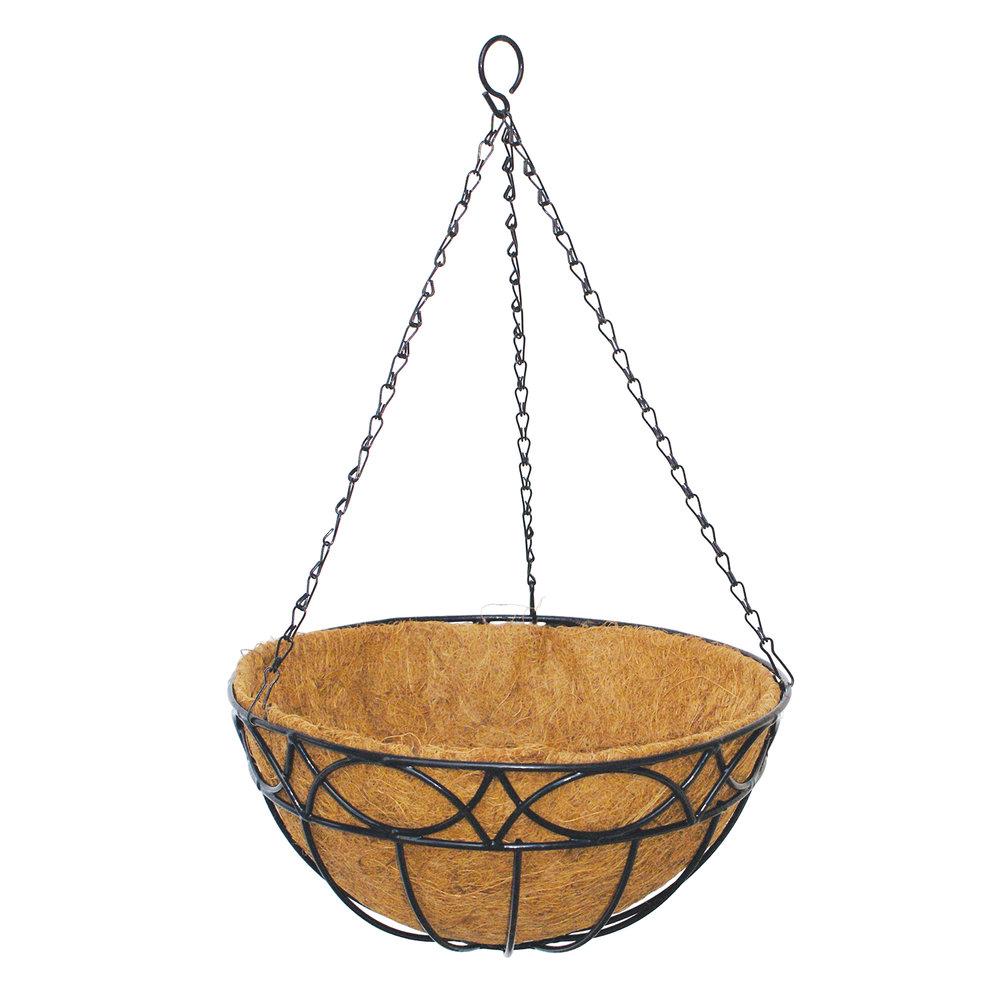 Hampton Hanging Basket with Liner