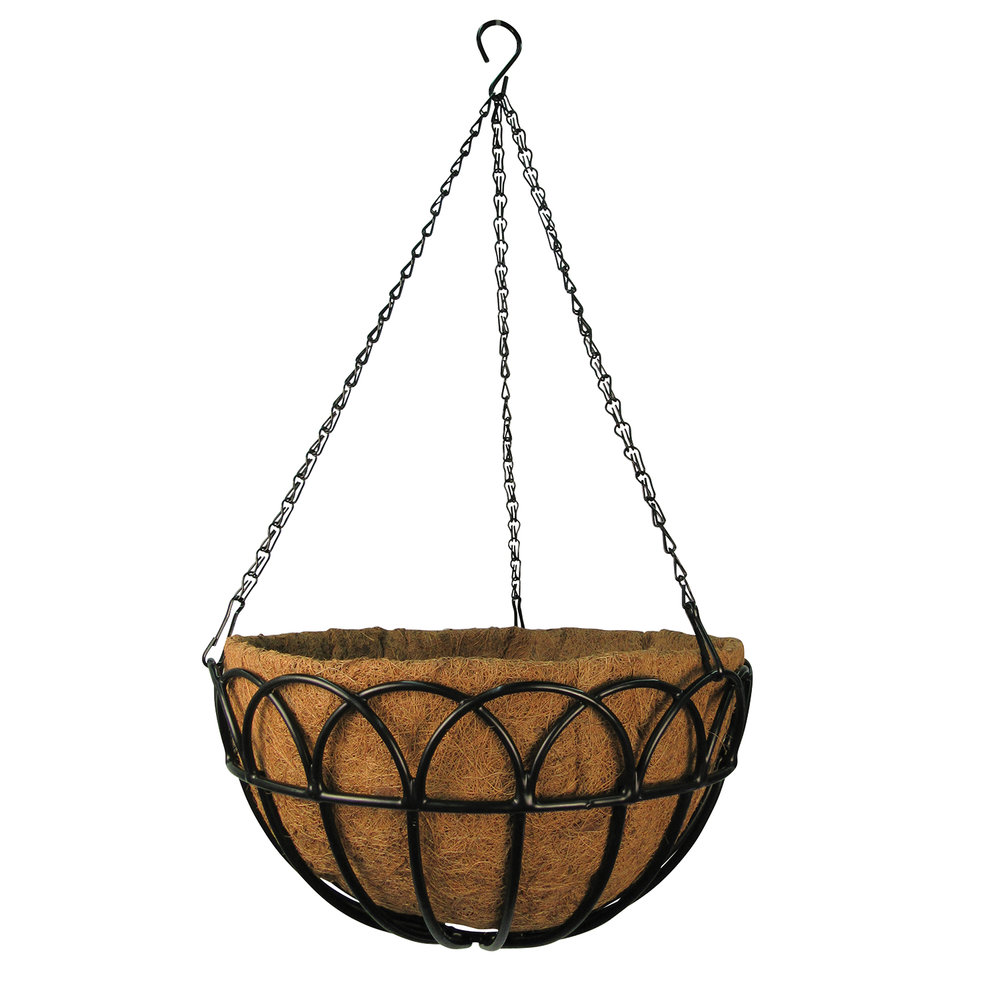 Greenbrier Hanging Basket with Coco Liner