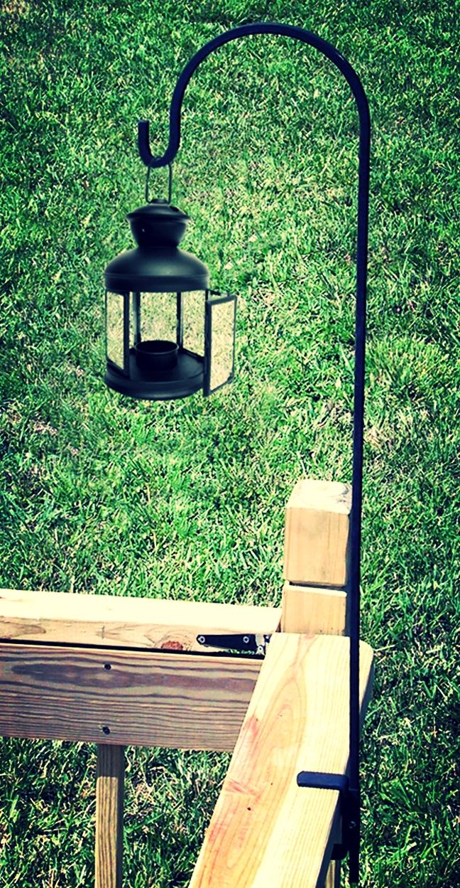 Bird Feeder/Lantern Deck Hook