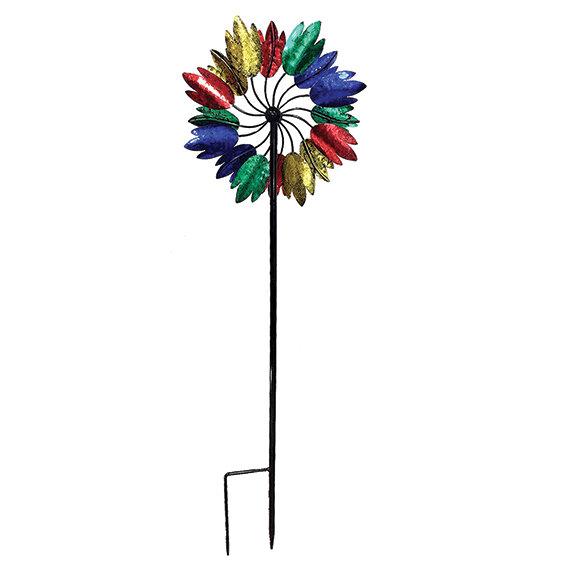 "60"" Tall Multi Tulip Wind Spinner"