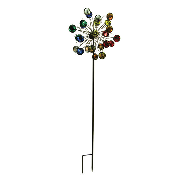 "84"" Tall Saturn Wind Spinner"