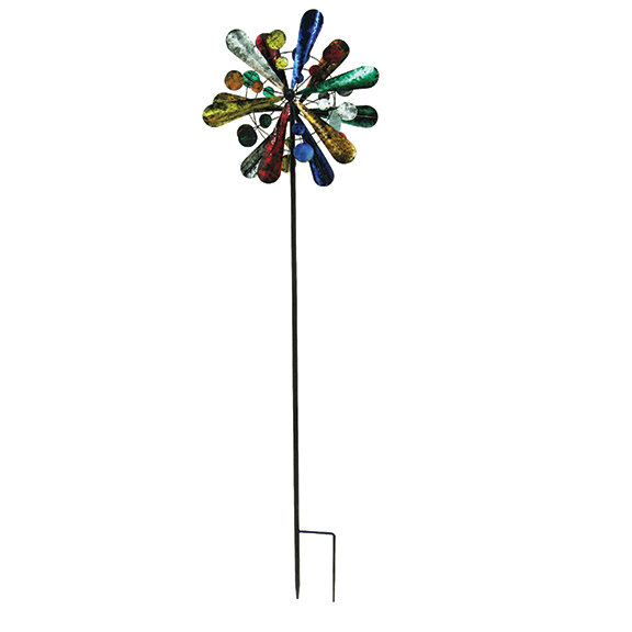 """84"""" Tall Circus Wind Spinner"""