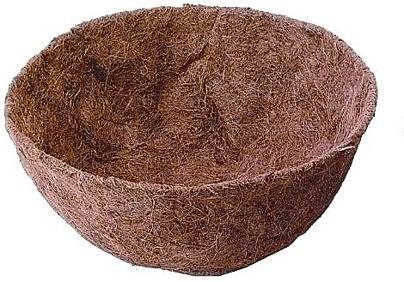 XL Hanging Basket Coco Liner   Round